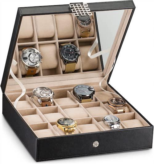 Glenor Co Watch Box for Men