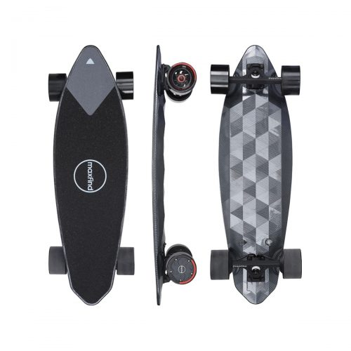 Electric Longboard Skateboard |MAXFIND MAX2 PRO Small Fish Plate|Dual Motor Drive With Remote Control Built-in Lithium Battery