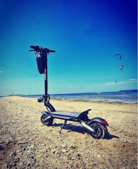 E-scooter beginner