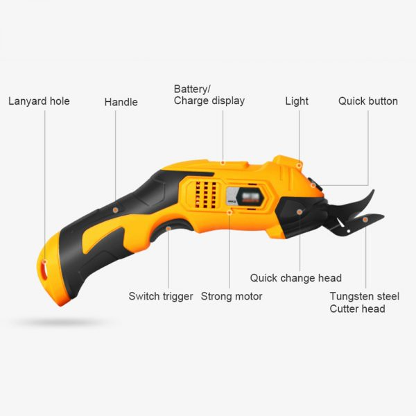 220V Cordless Electric Scissors (1)
