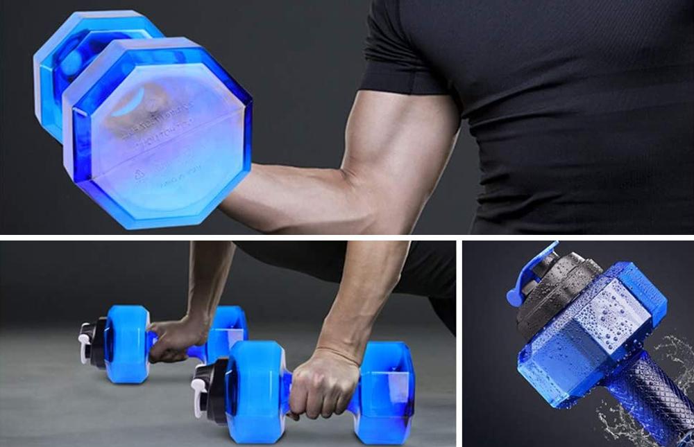 Dumbbells Large Water Bottle (5)