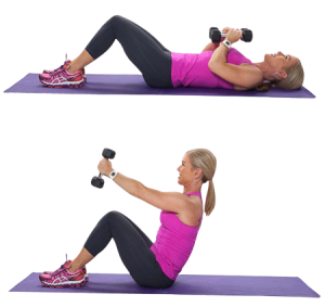 Weighted Sit-Ups / Jack Knives